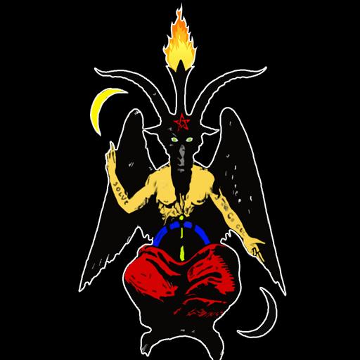 Baphomet The Sabbatic Goat Live Wallpaper (black) - Apps on Google Play