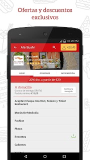 JUST EAT - Comida a domicilio screenshot 02