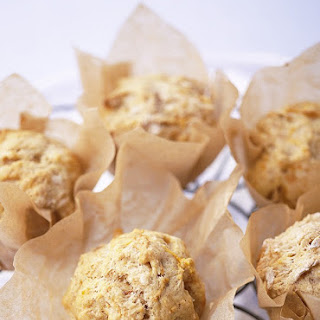 Orange and Carrot Muffins.