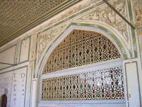 Photo: Topkapi Palace, Divan (imperial Council ***** Raadzaal van de vizieren)