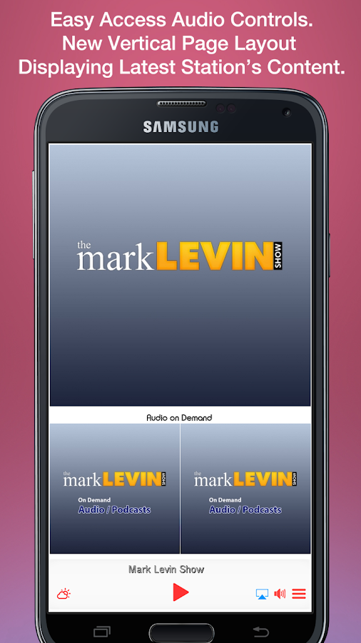 Mark Levin Show- screenshot
