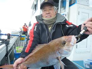 Photo: これは、良型でした! 真鯛3kgでした!