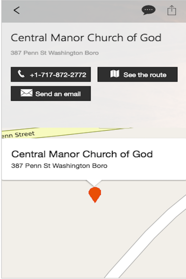 Central Manor Church- screenshot