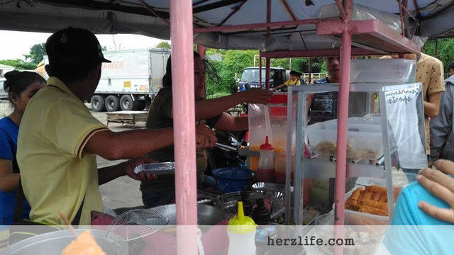 Popular Street Food in Odiongan Town New Market