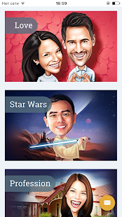 Caricatures,portraits,cartoons- screenshot thumbnail