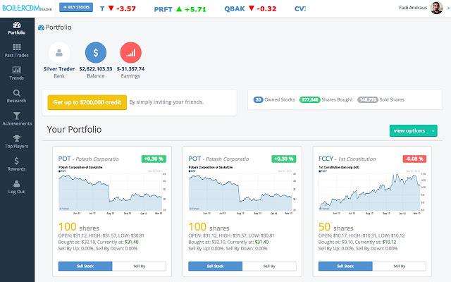 Stock Stock Game Market Market