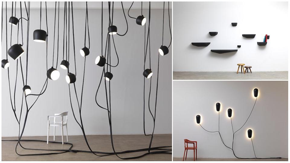 Flos Aim, original design Lianes Galerie Kreo
