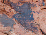Photo: Petroglyphs near Atlatl Rock