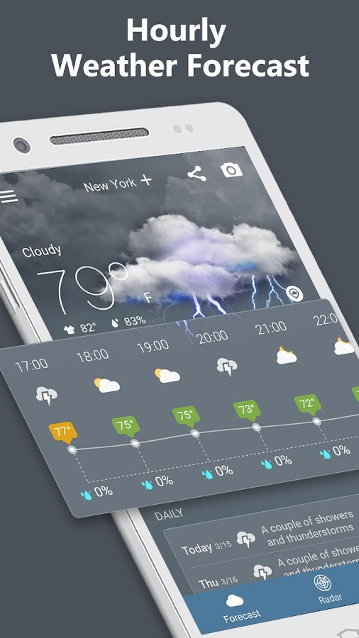 Weather Radar & Forecast- screenshot