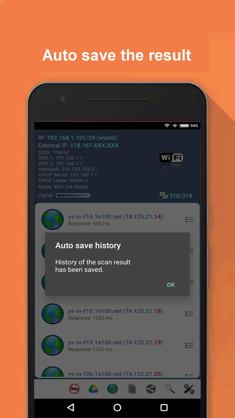 Network Scanner Screenshot 1