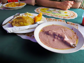 "Photo: Kampala - our first ""food"""