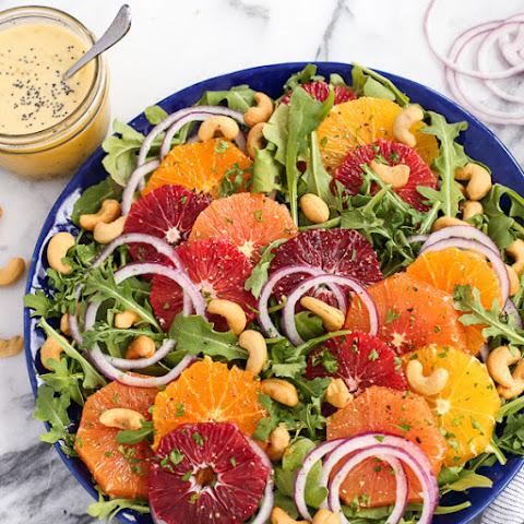 Citrus Salad with Orange Poppy Seed Dressing