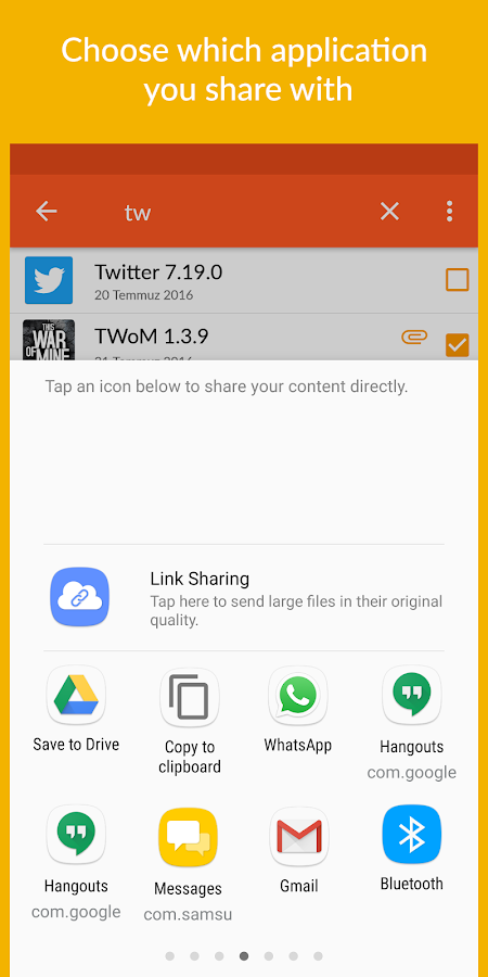 App Sharer+- screenshot