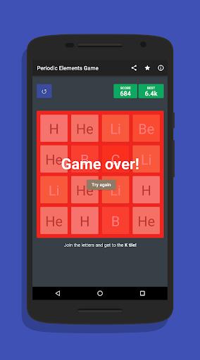 2048 Periodic Elements Game ud83dudd2c 1.0.2 screenshots 3