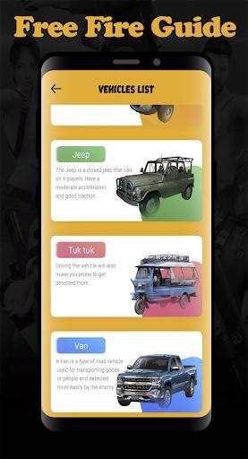 Guide For Free Fire Diamond 2020 1.0 screenshots 2