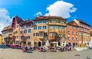 Штайн-на-Рейне - город-книжка с цветными картинками