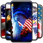 American Flag Wallpaper Icon