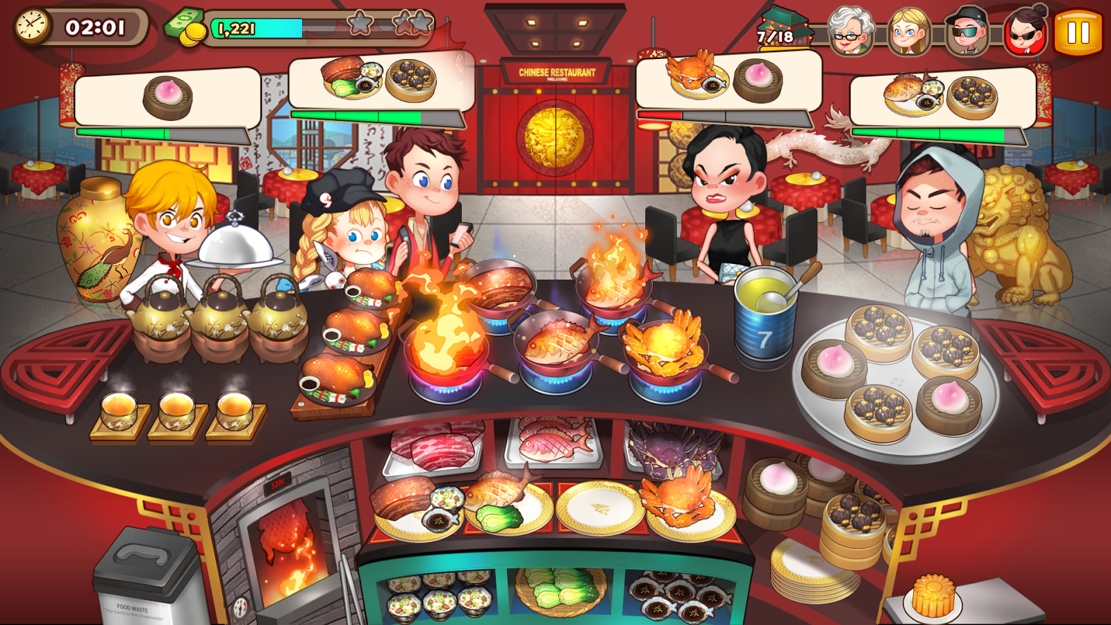Game to cook - Cooking Adventure Screenshot