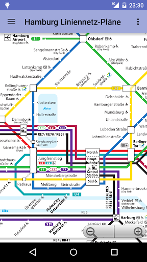 Hamburg Transit Maps