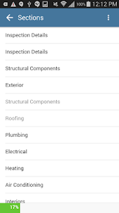 Home Inspection Software App - náhled