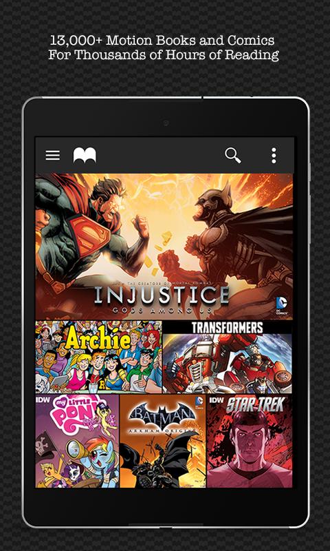 Madefire Comics & Motion Books screenshot #15