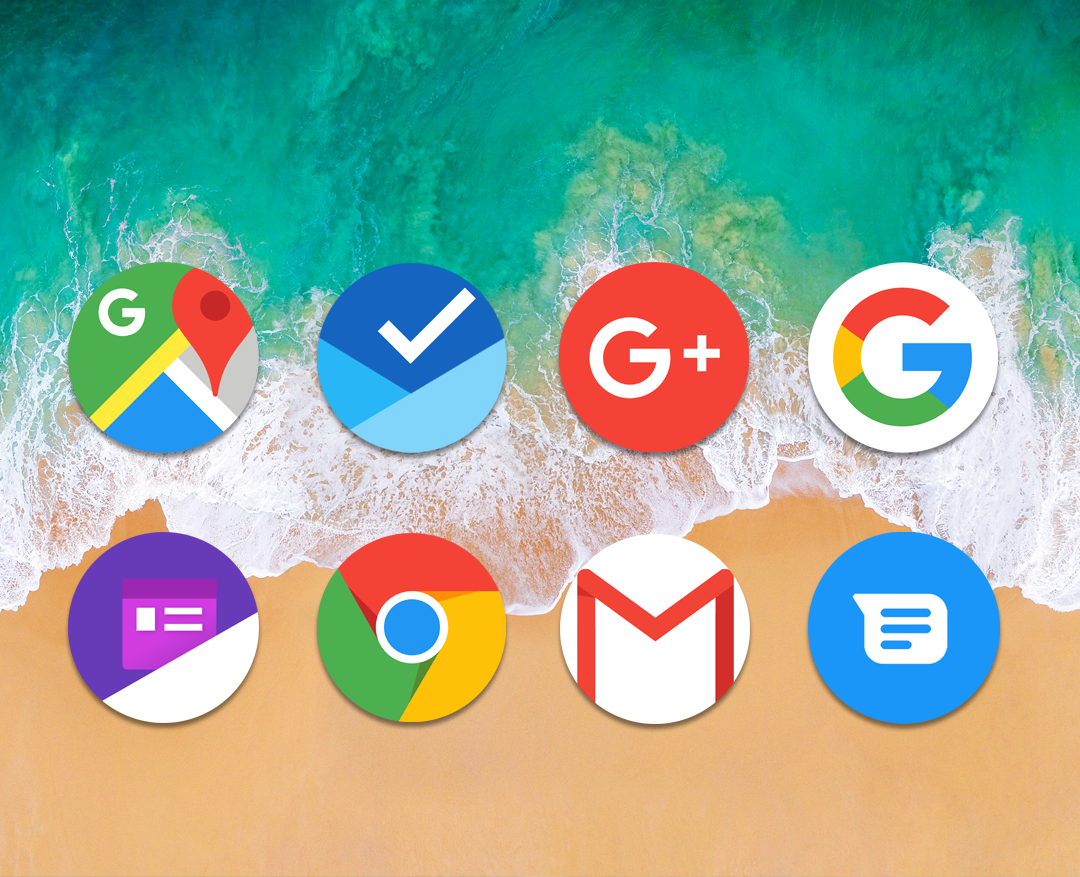 Oreo 8 - Icon Pack- screenshot