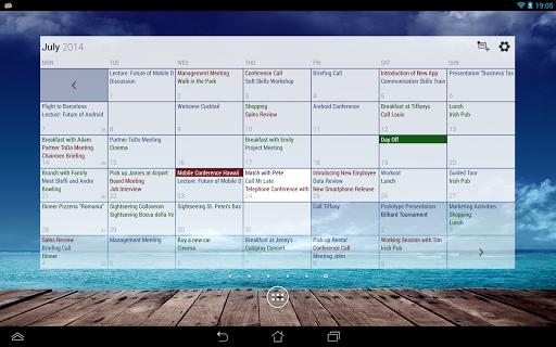 Business Calendar Beta screenshot 14