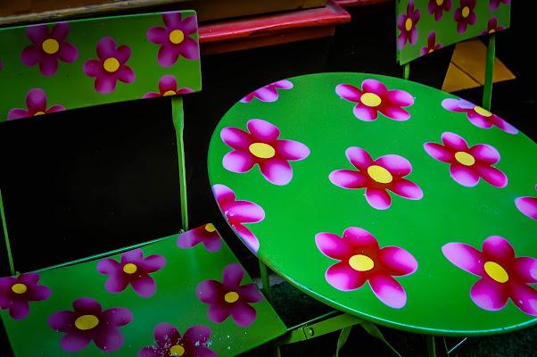 tavolino sulla Vieille ville di kaos
