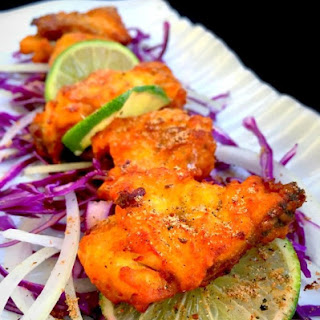 Amritsari Fish (Indian style battered fish).