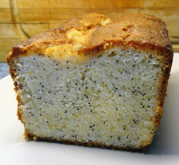 Rum-doused Lemon Poppy-seed Cake