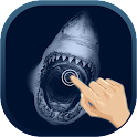 Magic Touch Shark Attack LWP icon