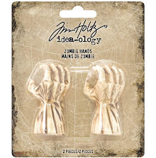 Tim Holtz Idea-Ology 2X.75 2/Pkg - Mini Zombie Hands