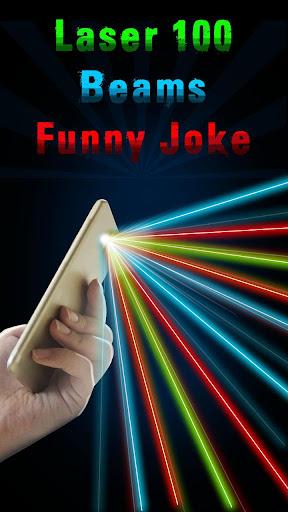 Laser 100 Beams Funny Joke Screenshot