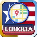 Liberia Maps and Direction icon