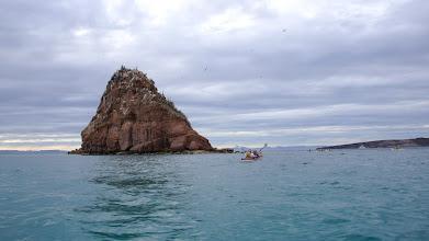 Photo: First kayak to El Gallo Island