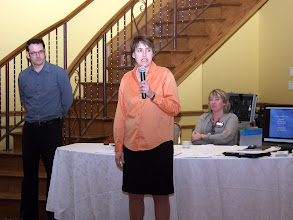 Photo: Christine Doyle of BOMA spoke about Facilities Management