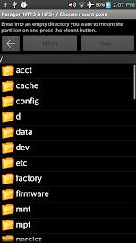 Paragon exFAT, NTFS & HFS+ Screenshot 8