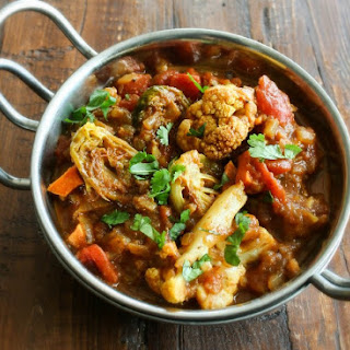 Indian Curry with Roasted Veggies 野菜たっぷり本格インドカレー.