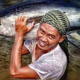 Fisherman's Life by Rannie Tomalon - Novices Only Portraits & People