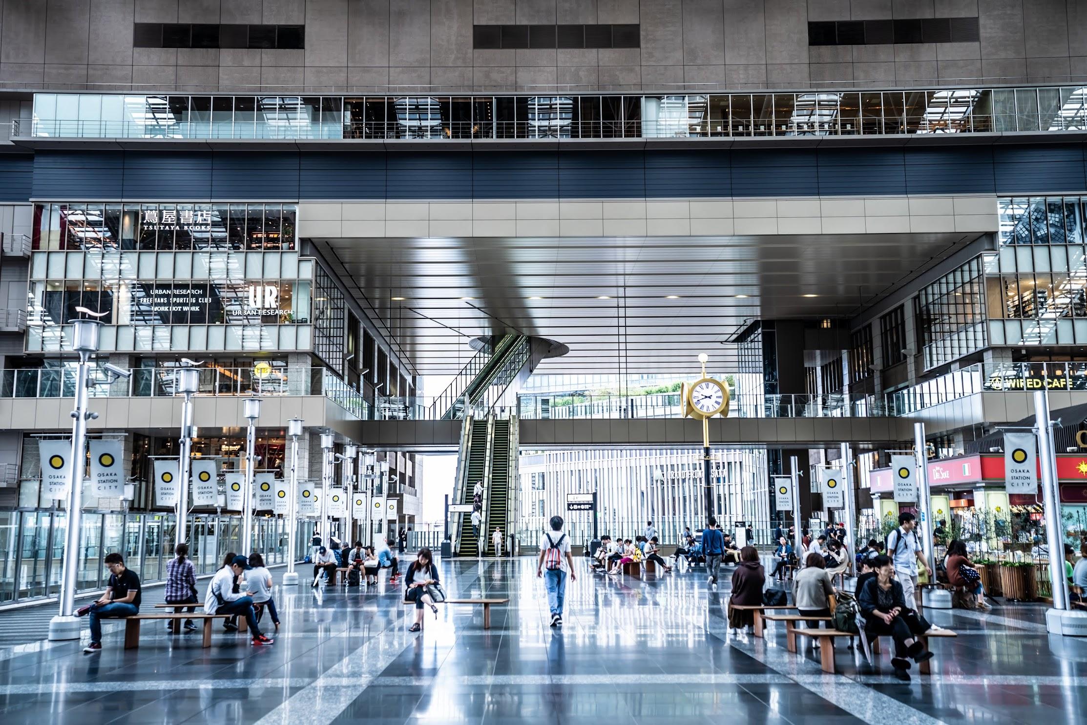 Osaka Station City Toki-no-hiroba Plaza3