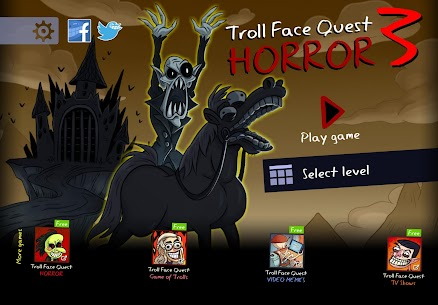 Troll Face Quest Horror 3 MOD (Unlimited Reminders) 1