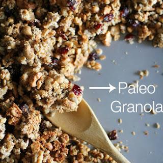 Coconut Walnut Sunflower Seed Paleo Granola