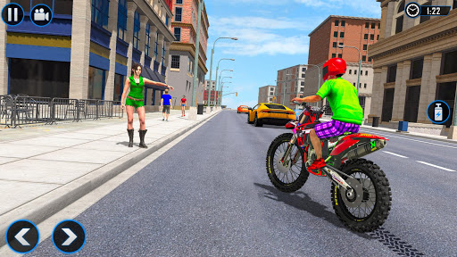 Extreme Rooftop Bike Rider Sim : Bike Games apkmr screenshots 4