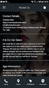 H & Co Hair Salon- screenshot thumbnail