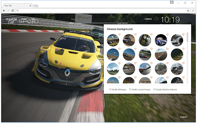 Gran Turismo Sport Wallpaper HD Racing NewTab