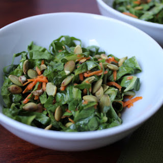 Crunchy Chard Slaw with Toasted Pepitas.