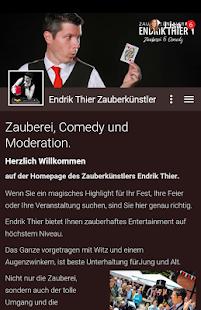 Endrik Thier Zauberer - náhled