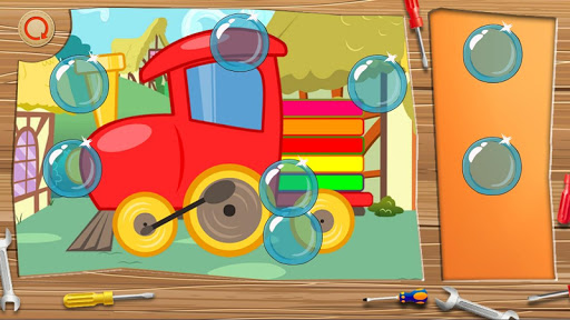 Kids Toy Train Puzzles