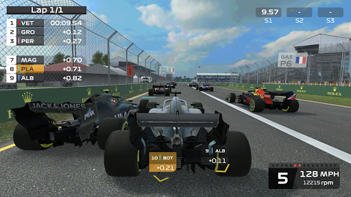 F1 Mobile Racing APK MOD screenshots 1