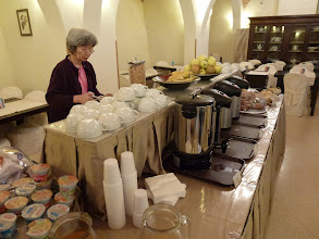 Photo: Morning breakfast area in our hotel